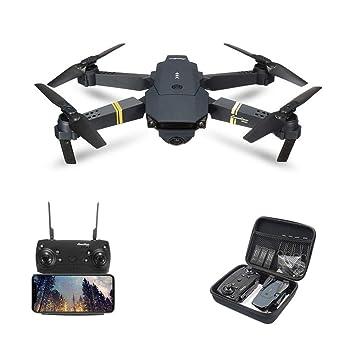 AHangcc Drone E58 RC Drone Drone X Procon Cámara 1080P WiFi FPV ...