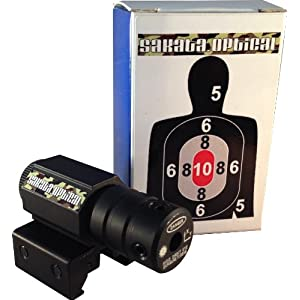【赤】レッドレーザーサイト マウント一体型 20mmレール対応 【SLR-01】