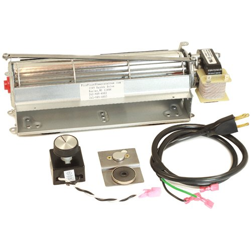 - GFK4 Fireplace Blower kit for Heatilator, Majestic, CFM, Vermont Castings, Monessen; Rotom #HBRB74K