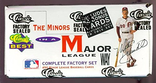 - 1991 Classic Best Minor League Baseball Complete Box set Minors FACTORY SEALED