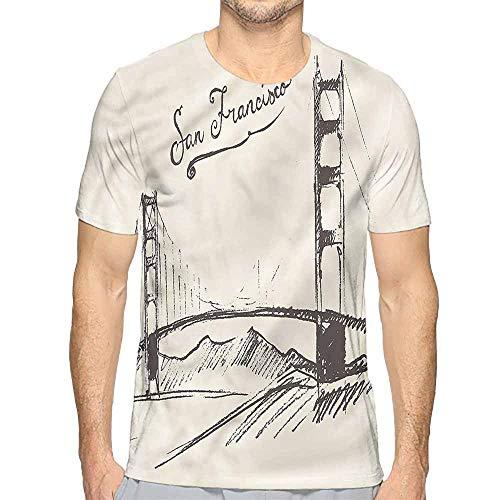 t Shirt Printer USA,Simple Vintage Sketch Bridge Junior t Shirt -