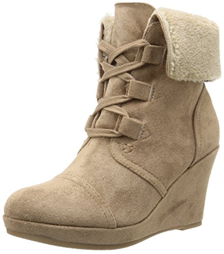 Report Women's Justise Winter Boot, Stone, 9 UK/9 M US - Report Faux Fur Boot
