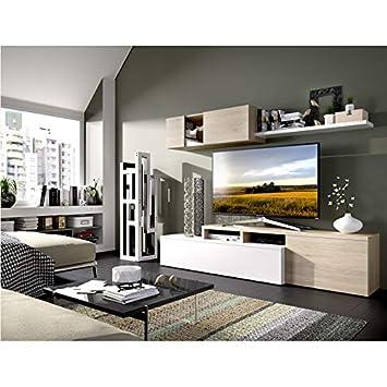 HABITMOBEL Mueble de salón Comedor Moderno, Medidas:Alto ...