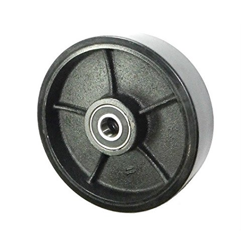 Mighty-Lift-Pallet-Jack-Steer-Wheel-7-Diameter-x-2-Wide-Polyurethane-on-Steel