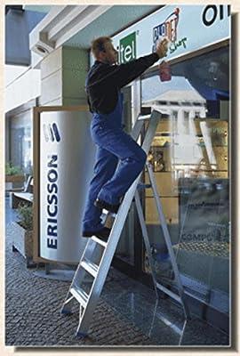 Frigerio Escalera Prof 6026 Mod 11 Peldaños de Aluminio: Amazon.es: Hogar