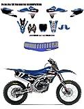 D'Cor 2015 Star Racing Yamaha Graphics & Seat Cover Kit - Yamaha YZ250F - 2014-2016 _20-50-255|30-50-455