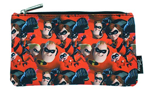 Apparel Backpacks Bags - Disney Pixar Incredibles 2 Pencil Case Pouch Holder Allover Print