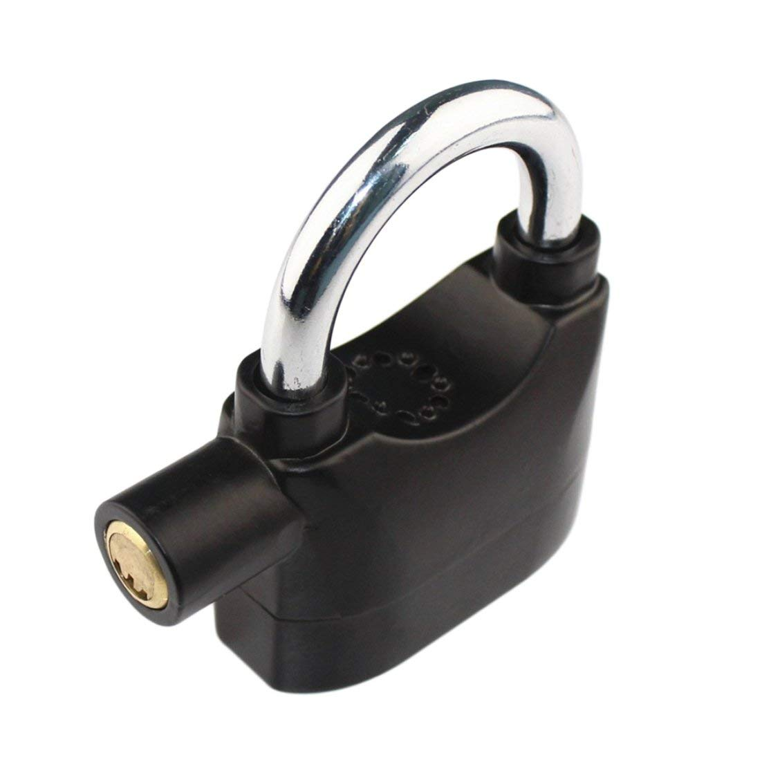 Color:Black Kaemma Negro Sirena Impermeable Candado de Alarma Candado de Alarma para Motocicleta Bicicleta Bicicleta Seguridad candados de Alarma de 110dB