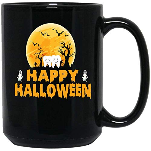 Coffee Mug Scary Dentist Halloween Coffee Mug Funny