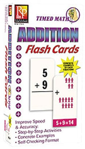Remedia Publications Timed Math Addition Flash Cards by REMEDIA PUBLICATIONS