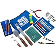 40 Piece 3D Printer Tool Kit - All The 3D Printing Tools & Accessories Needed to Remove, Clean & Finish 3D Prints – Toolkit Includes Spatulas, Pliers, Tweezers, Scrapers & More - Print Like a Pro