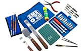 40 Piece 3D Printer Tool Kit - All The 3D Printing Tools Needed to Remove, Clean & Finish 3D Prints - Print Like a Pro