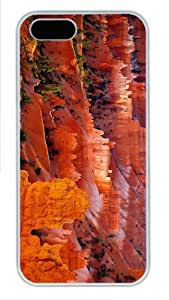 case glitter covers bryce canyon national park PC White Case for iphone 5/5S