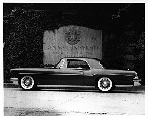 1956 Lincoln Continental MKII Auto Photo Poster Denison