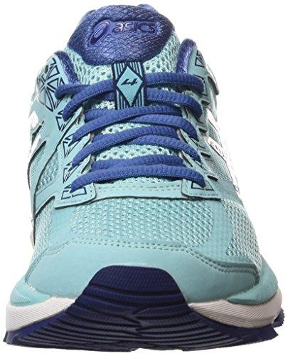 Femme Chaussures Indigo Blue Compétition Gt Asics 4 Turquoise Gris Blue Slate Running 2000 4050 de Bleu qnT0t71T