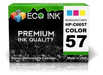 Amazon.com: ECO/Remanufacturado tinta compatibles para HP 57 ...