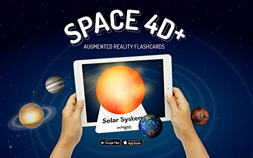 Space 4D Flash Cards