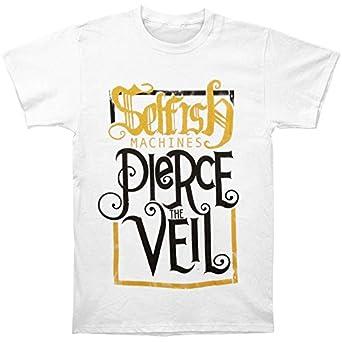 pierce the veil mens selfish machines tshirt xlarge