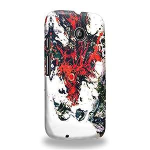 Case88 Premium Designs Tokyo Ghoul Yoshimura Kaneki Ken Carcasa/Funda dura para el Motorola Moto E (2nd Gen.)