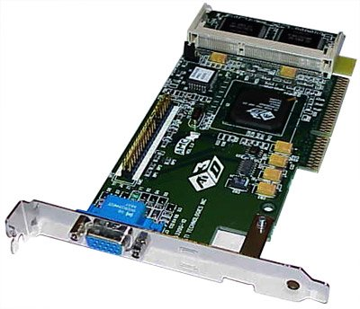 ATI 4MB 3D Rage Pro AGP 4MB Video Card 109-43200-10