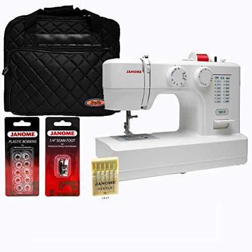 janome 1 2 size sewing machine - 4