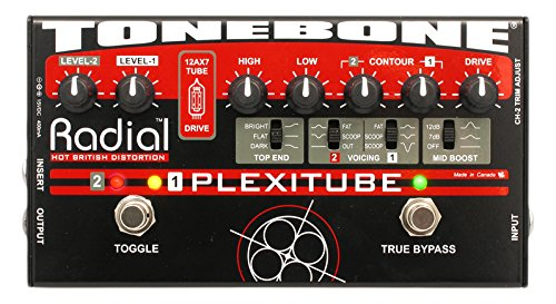 Radial Tonebone Plexitube Tube Distortion Pedal