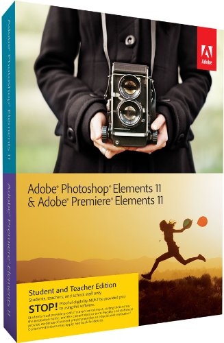 Adobe Photoshop Elements 11 & Adobe Premiere Elements 11 Student and Teacher Edition [OLD VERSION]