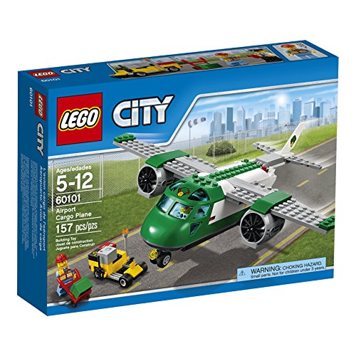 LEGO-City-Airport-60101-Airport-Cargo-Plane-Building-Kit-157-Piece