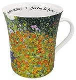 Konitz 12-Ounce Les Fleurs Chez Les Peintres Klimt Mugs, Assorted, Set of 4 by Konitz