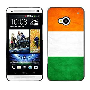 Shell-Star ( National Flag Series-Ivory Coast ) Snap On Hard Protective Case For HTC One (M7)