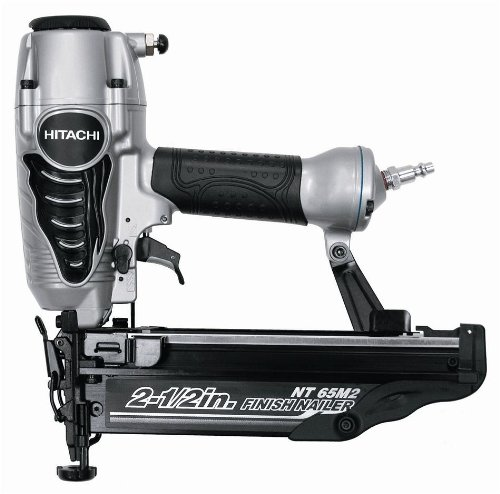 Hitachi NT65M2S 16-Gauge Finish Nailer with Integrated Air Duster, 2-1/2-Inch, - Ga Commerce In Outlets