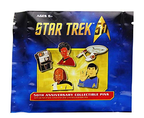 (Star Trek 50th Anniversary Collectable Pin, Blind)