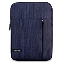 Lacdo 10.1-inch Shockproof Tablet Sleeve Case for iPad Air 2 With Retina Display / iPad 4,3,2 / Samsung Galaxy Tab 4, 3, Note Tablets Carrying Case Cover Protective Bag,Blue