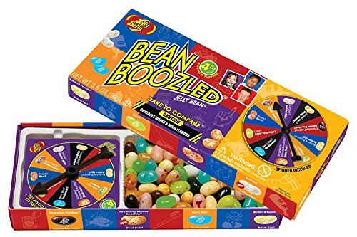 Jelly Belly 4th Edition Beanboozled Jelly Beans Spinner Gift Box, 3.5 oz (Jelly Belly Chocolate Jelly Beans)