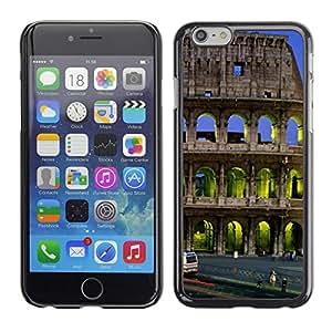 [Neutron-Star] Snap-on Series Teléfono Carcasa Funda Case Caso para Apple (4.7 inches!!!) iPhone 6 / 6S [Arquitectura Coloso Edificio City]