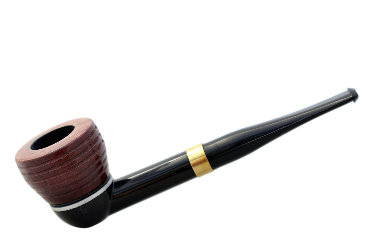 FALCON international fitler pipe: straight stem with 2017 collection carved dover bowl (UK)
