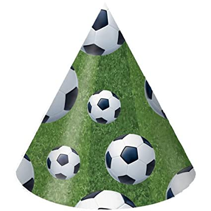 9275ef2dd05266 Image Unavailable. Image not available for. Color: Soccer Party Hats ...