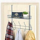 NEX Upgrade Over The Door Hook Shelf Organizer 5