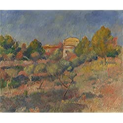 'Pigeon Coop At Bellevue Pierre Auguste Renoir ' Oil Painting, 8 X 10 Inch / 20 X 24 Cm ,printed On Polyster Canvas ,this Cheap But High Quality Art Decorative Art Decorative Prints On Canvas Is Perfectly Suitalbe For Bar Decor And Home Decor And Gifts