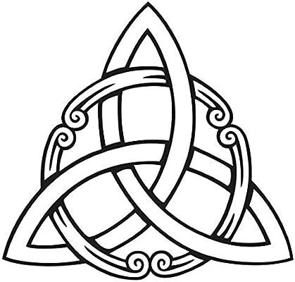 Wandtattoo - Sonstige Pared Adhesivo keltisches triqueta Cruz ...