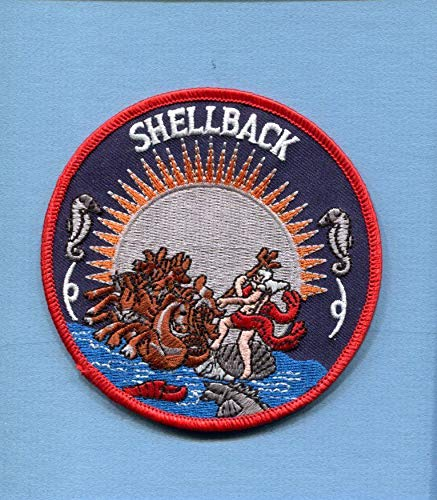 Embroidered Patch-Patches for Women Man- Shellback King Neptune -
