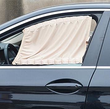 Basong Gardine Vorhang Sonnenschutz f/ür Auto Baby UV-Schutz Sonnenblende