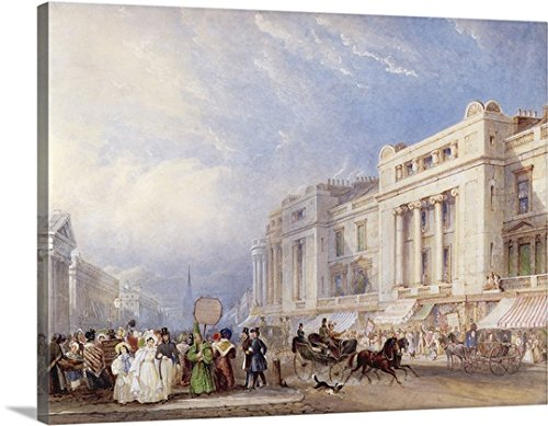 regent-street-london-looking-north-with-dickins-and-jones-on-the-right-gallery-wrapped-canvas