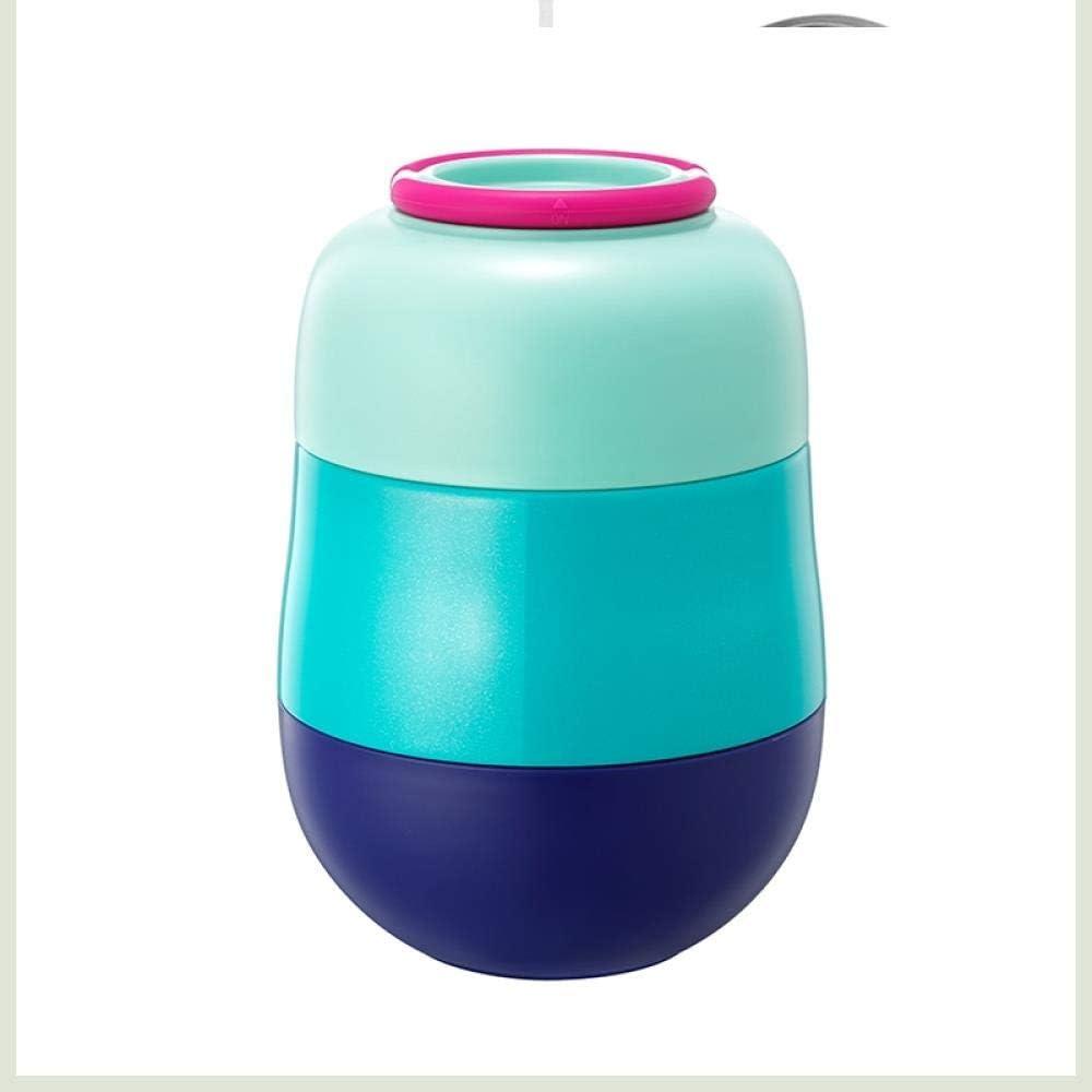 シチュービーカーステンレス鋼魔法瓶ボトル食品容器二重層蒸煮ビーカー熱シチュー鍋断熱スープサーモセス、C-520ml