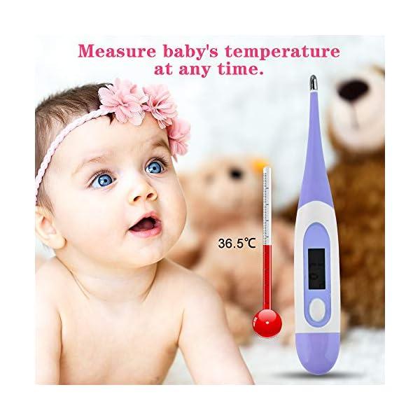 Kit per la Cura del Bambino Forbicine Neonati Kit Manicure Neonato Tagliaunghie Neonato Set Neonato Igiene per la cura… 6
