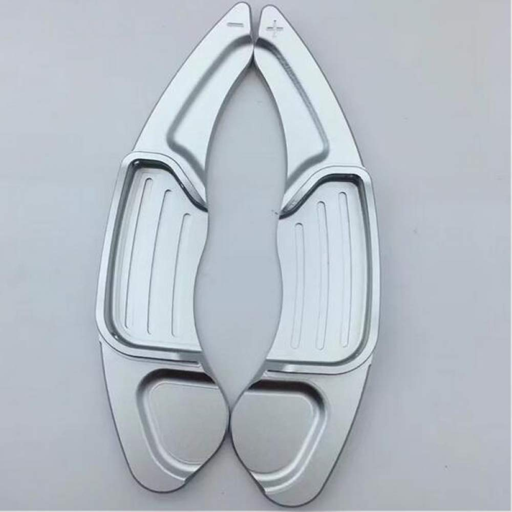 ZHOUMOBP 2pcs//Lot Aluminum Steering Wheel Shift Paddle Shifter Extension,for Ford Mondeo Edge Explorer Lincoln Taurus