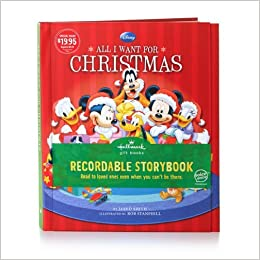 KOB9101 All I Want for Christmas Disney Recordable Storybook ...