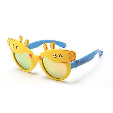 ERTMJ Gafas De Sol Redondas Para Niños Niño Y Niña Gafas De ...