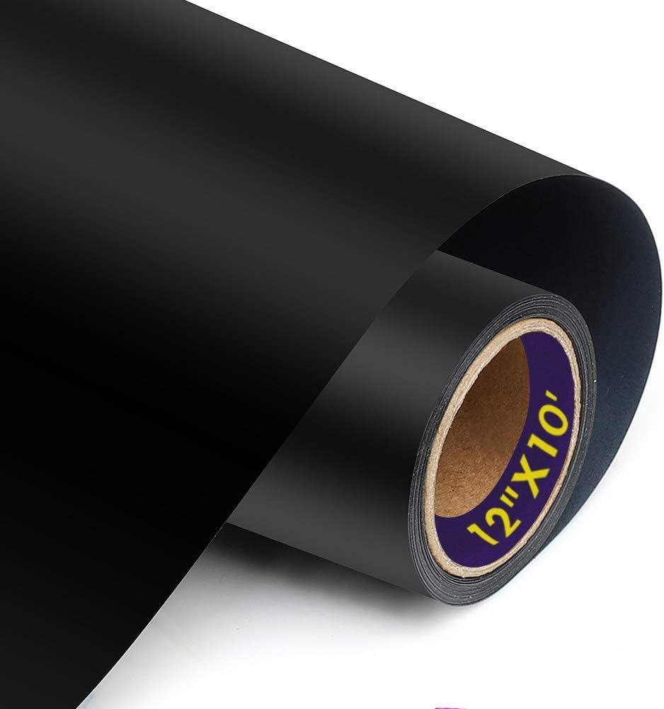 "12/""x20/'ft HTV Heat Transfer Vinyl Roll Heat Press Home Iron On T-shirt Textile"