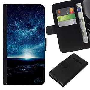 All Phone Most Case / Oferta Especial Cáscara Funda de cuero Monedero Cubierta de proteccion Caso / Wallet Case for Samsung Galaxy A3 // A Night Full Of Stars